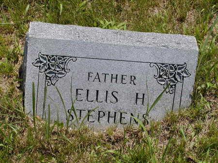 STEPHENS, ELLIS H. - Black Hawk County, Iowa | ELLIS H. STEPHENS