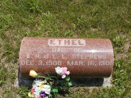 STEPHENS, ETHEL - Black Hawk County, Iowa | ETHEL STEPHENS