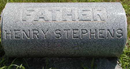 STEPHENS, HENRY - Black Hawk County, Iowa | HENRY STEPHENS