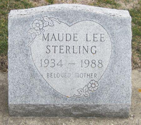 STERLING, MAUDE LEE - Black Hawk County, Iowa | MAUDE LEE STERLING