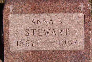 STEWART, ANNA B. - Black Hawk County, Iowa | ANNA B. STEWART