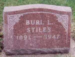 STILES, BURL L. - Black Hawk County, Iowa | BURL L. STILES
