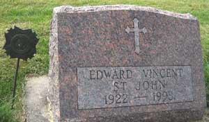 ST. JOHN, EDWARD VINCENT - Black Hawk County, Iowa | EDWARD VINCENT ST. JOHN