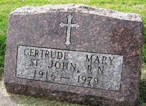 ST. JOHN, GERTRUDE MARY - Black Hawk County, Iowa | GERTRUDE MARY ST. JOHN