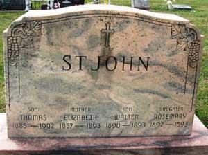 ST. JOHN, THOMAS - Black Hawk County, Iowa | THOMAS ST. JOHN