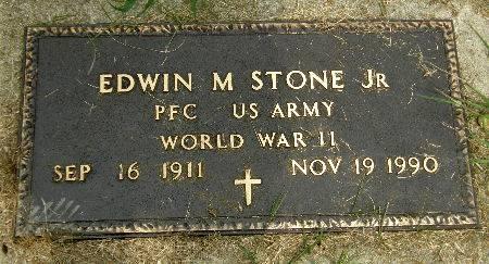 STONE, EDWIN M. JR. - Black Hawk County, Iowa | EDWIN M. JR. STONE