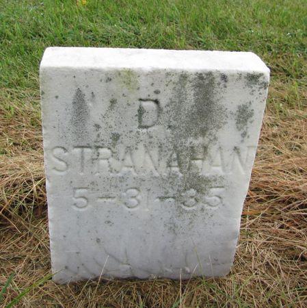 STRANAHAN, D. - Black Hawk County, Iowa | D. STRANAHAN
