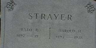 STRAYER, ESTO - Black Hawk County, Iowa | ESTO STRAYER