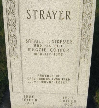 CONNOR STRAYER, MAGGIE - Black Hawk County, Iowa | MAGGIE CONNOR STRAYER
