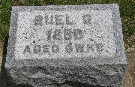STREETER, BUEL G. - Black Hawk County, Iowa | BUEL G. STREETER