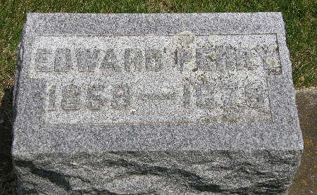 STREETER, EDWARD PERRY - Black Hawk County, Iowa | EDWARD PERRY STREETER