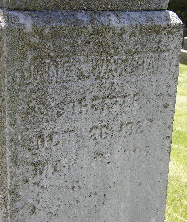 STREETER, JAMES W. - Black Hawk County, Iowa | JAMES W. STREETER