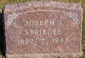 STRIEGEL, JOSEPH J. - Black Hawk County, Iowa | JOSEPH J. STRIEGEL