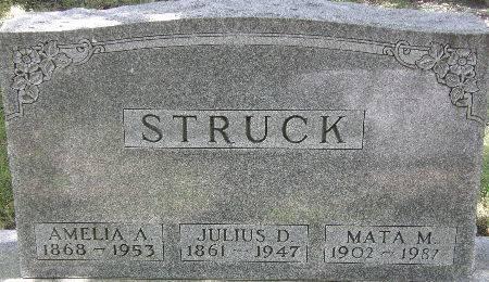 STRUCK, MATA M. - Black Hawk County, Iowa   MATA M. STRUCK