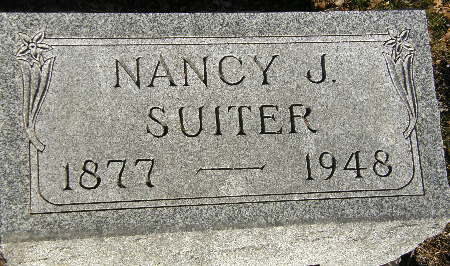 SUITER, NANCY J. - Black Hawk County, Iowa   NANCY J. SUITER
