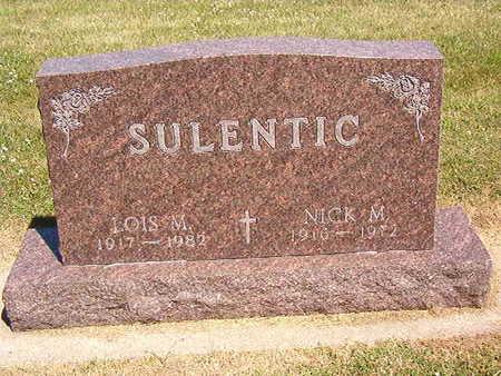 SULENTIC, NICK M. - Black Hawk County, Iowa | NICK M. SULENTIC