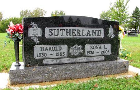 SUTHERLAND, HAROLD - Black Hawk County, Iowa | HAROLD SUTHERLAND