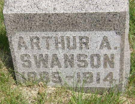 SWANSON, ARTHUR A. - Black Hawk County, Iowa | ARTHUR A. SWANSON