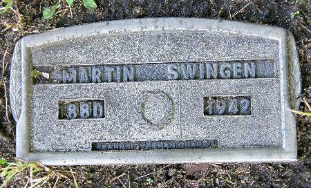 SWINGEN, MARTIN - Black Hawk County, Iowa | MARTIN SWINGEN