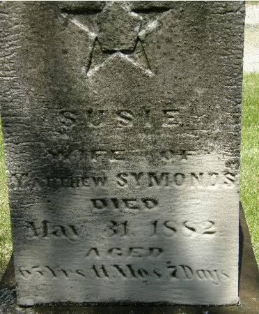 SYMONDS, SUSIE - Black Hawk County, Iowa | SUSIE SYMONDS