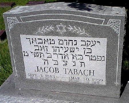 TABACH, JACOB - Black Hawk County, Iowa | JACOB TABACH