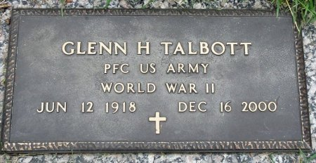 TALBOTT, GLENN HOWARD - Black Hawk County, Iowa | GLENN HOWARD TALBOTT