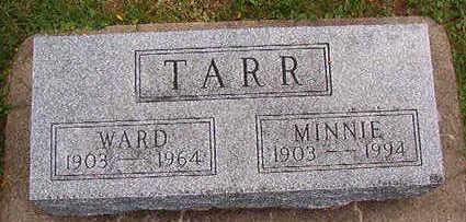 TARR, MINNIE - Black Hawk County, Iowa | MINNIE TARR