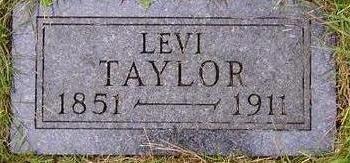 TAYLOR, LEVI - Black Hawk County, Iowa | LEVI TAYLOR