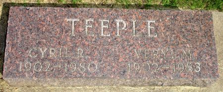 TEEPLE, VERYL M. - Black Hawk County, Iowa | VERYL M. TEEPLE