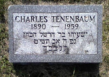 TENENBAUM, CHARLES - Black Hawk County, Iowa | CHARLES TENENBAUM