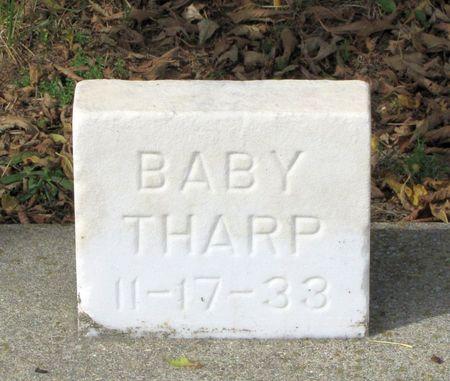 THARP, BABY - Black Hawk County, Iowa | BABY THARP