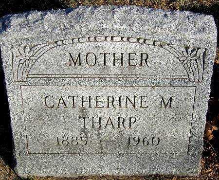 THARP, CATHERINE M. - Black Hawk County, Iowa | CATHERINE M. THARP