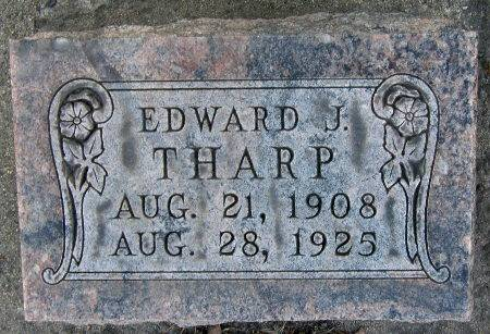THARP, EDWARD J. - Black Hawk County, Iowa | EDWARD J. THARP