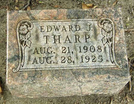 THARP, EDWARD J. - Black Hawk County, Iowa | EDWARD J. THARP