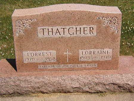THATCHER, FORREST - Black Hawk County, Iowa   FORREST THATCHER