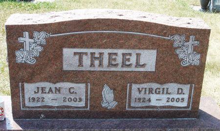 THEEL, VIRGIL DONALD - Black Hawk County, Iowa | VIRGIL DONALD THEEL