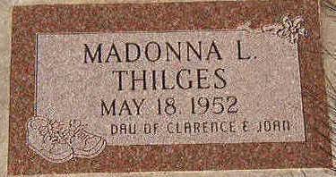 THILGES, MADONNA L. - Black Hawk County, Iowa | MADONNA L. THILGES