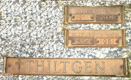 THILTGEN, CLIFFORD W. - Black Hawk County, Iowa | CLIFFORD W. THILTGEN