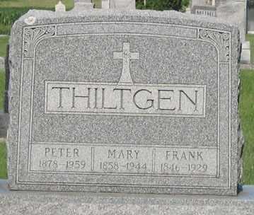 THILTGEN, MARY - Black Hawk County, Iowa | MARY THILTGEN
