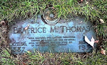 THOMAS, BEATRICE M. - Black Hawk County, Iowa | BEATRICE M. THOMAS