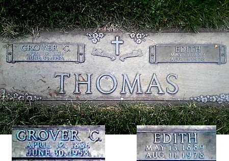 THOMAS, GROVER C. - Black Hawk County, Iowa | GROVER C. THOMAS