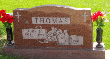 THOMAS, JOHN M. - Black Hawk County, Iowa | JOHN M. THOMAS