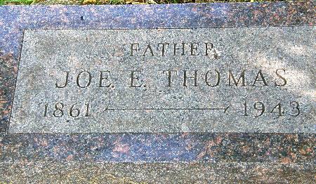 THOMAS, JOE E. - Black Hawk County, Iowa | JOE E. THOMAS