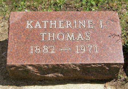 THOMAS, KATHERINE I. - Black Hawk County, Iowa | KATHERINE I. THOMAS