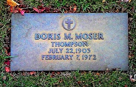 IRVINE THOMPSON, DORIS M. MOSER - Black Hawk County, Iowa | DORIS M. MOSER IRVINE THOMPSON