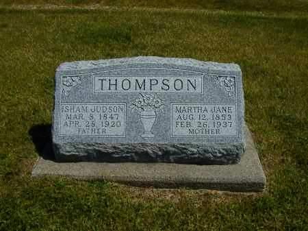 THOMPSON, ISHAM JUDSON - Black Hawk County, Iowa   ISHAM JUDSON THOMPSON