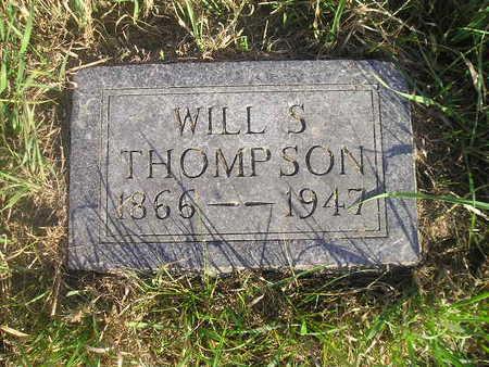 THOMPSON, WILL S - Black Hawk County, Iowa   WILL S THOMPSON