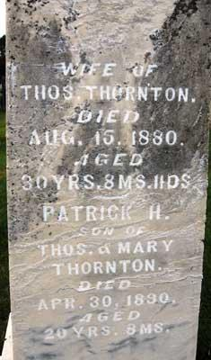 THORTON, PATRICK H. - Black Hawk County, Iowa | PATRICK H. THORTON