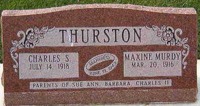 MURDY THURSTON, MAXINE - Black Hawk County, Iowa | MAXINE MURDY THURSTON