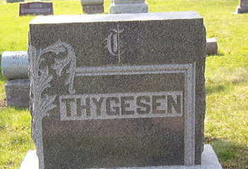 THYGESEN, FAMILY STONE - Black Hawk County, Iowa   FAMILY STONE THYGESEN